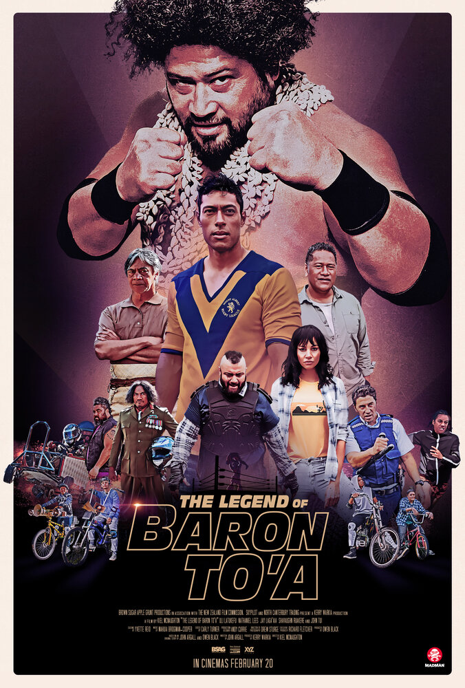 The Legend of Baron To'a (2020) постер